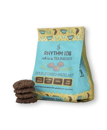 Rhythm, Biscuits double chocolat noisette