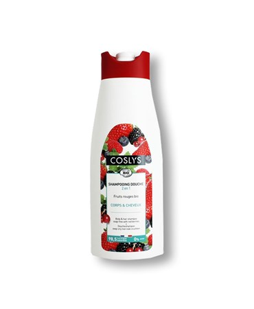 Shampooing douche 2 en 1 fruits rouges bio