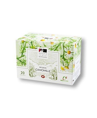 Grand St-Bernard infusion Camomille 20 sachets